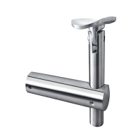 stainless steel handrail bracket - balustrade to tube - adjustable VM1003