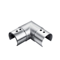 Corner connector for channel handrail tube VM6004