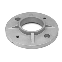 Round base flange for balustrade post VM4012