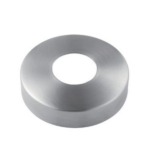 Round tube cover cap flat VM4006