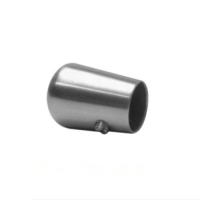 Tube end cap for railing cross bar vm2035