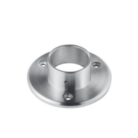 Wall mount flange for round handrail VM4001