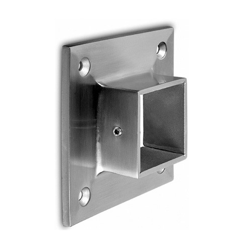 Wall mount flange for square handrail vm4011