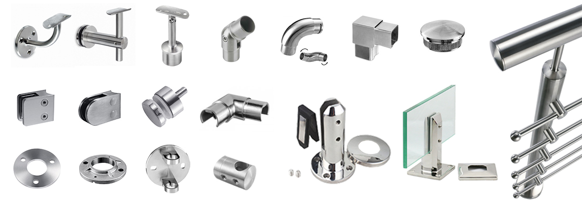 1146X400 hot sale railing parts in europe